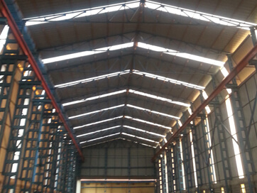 Roofing Cladding installation