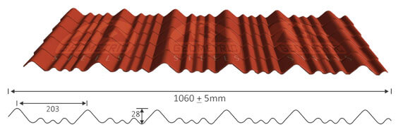 residential and industrial roofing sheets